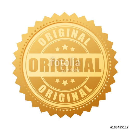 500x500 Original Gold Seal Icon Stock Image And Royalty Free Vector Files