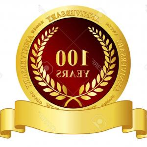 300x300 Phototh Anniversary In Gold Seal Vector Sohadacouri