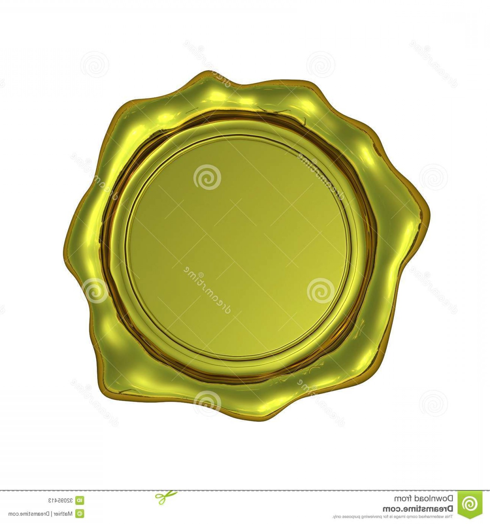 1560x1668 Stock Photos Realistic Gold Seal Isolated Blank White Transparent