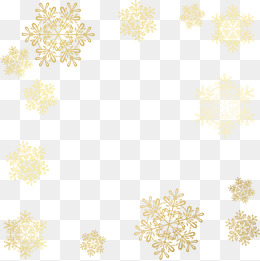 260x261 Golden Snowflakes Png, Vectors, Psd, And Clipart For Free Download