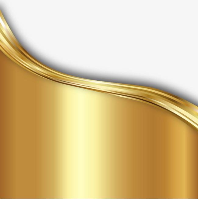 650x651 Golden Background Texture Wavy Lines Vector Material, Golden Wave