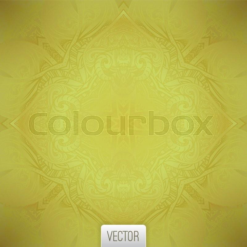 800x800 Vintage Gold Seamless Background. Vector Seamless Golden Texture