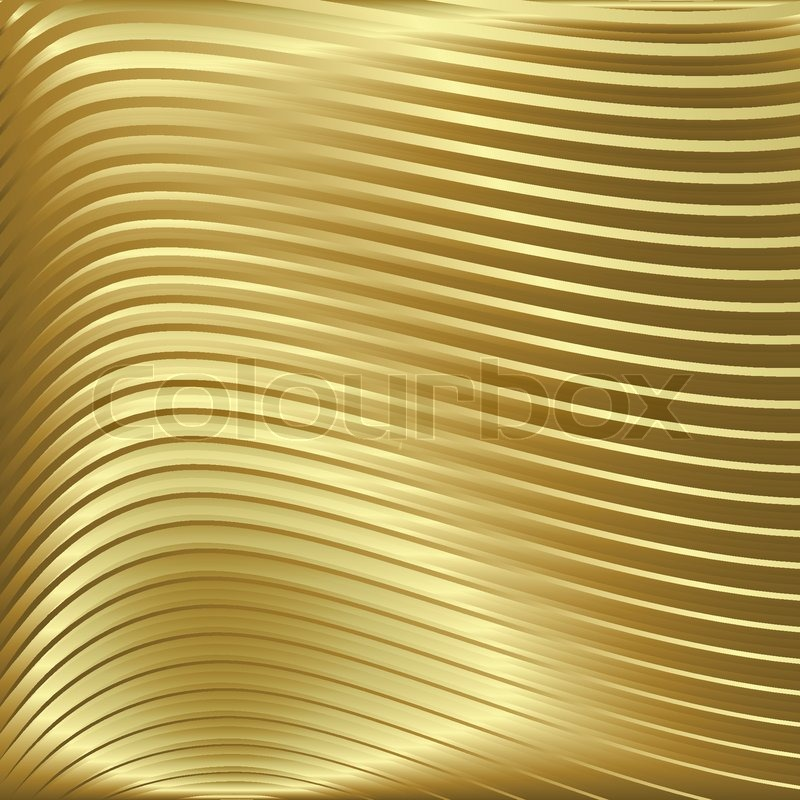 800x800 Abstract Gold Background With Waves On Golden Texture Stock
