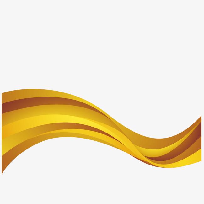 650x651 Vector Gold Decorative Ribbon, Gold Vector, Ribbon Vector, Ribbon