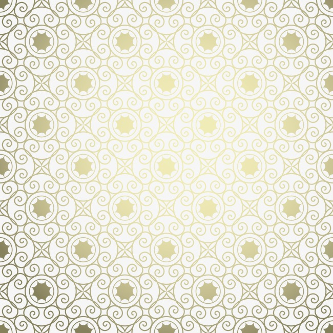 650x650 Gold Pattern Background, Gold Vector, Pattern Vector, Gold Pattern