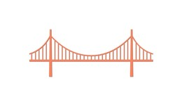 260x151 Download Bridge Vector Png Clipart Golden Gate Bridge Clip Art