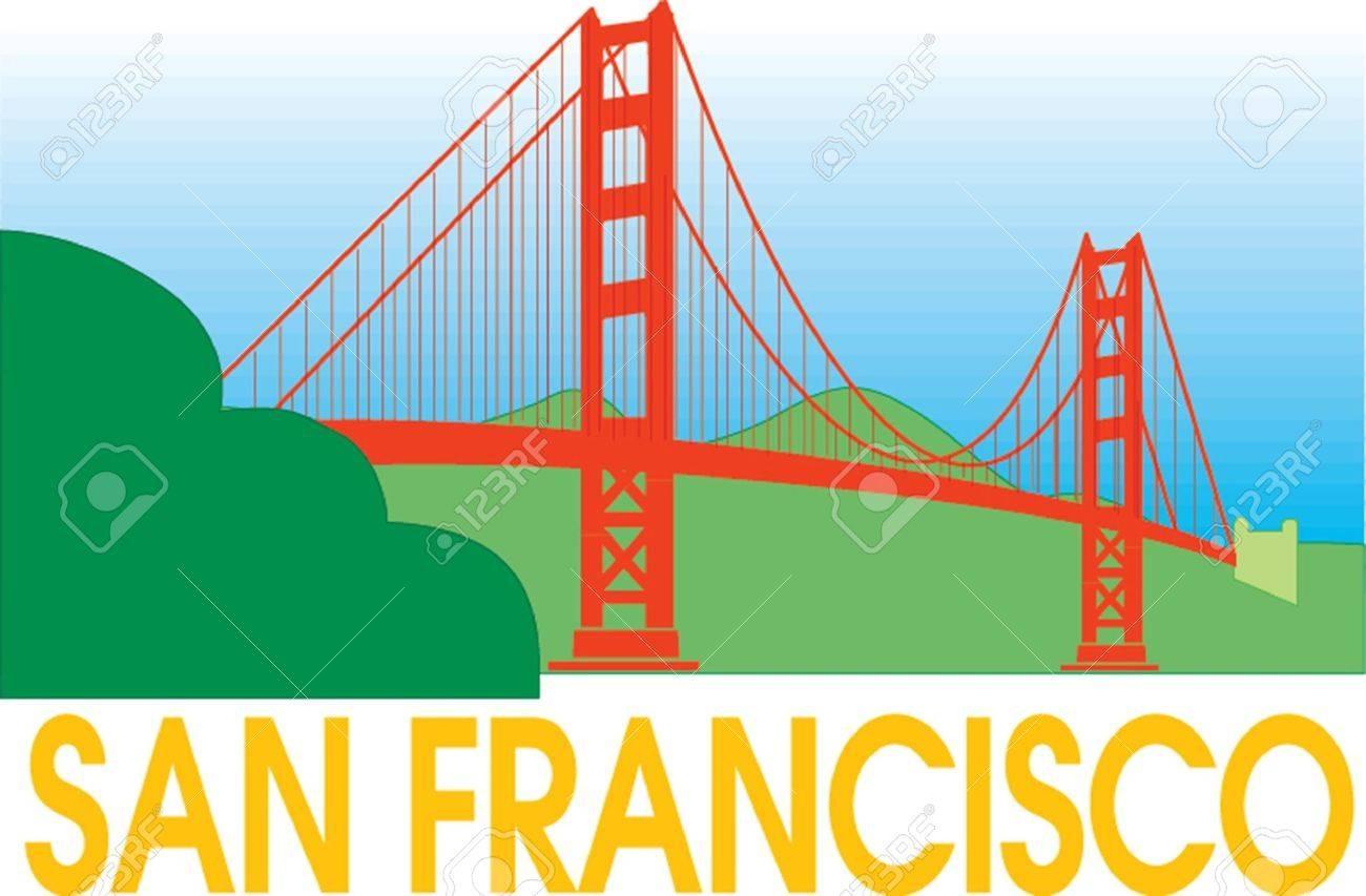 1300x853 Golden Gate Bridge Graphics Svg Dxf Eps Png Cdr Ai Pdf Vector Art