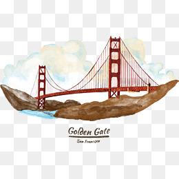 260x260 Golden Gate Bridge Png Images Vectors And Psd Files Free