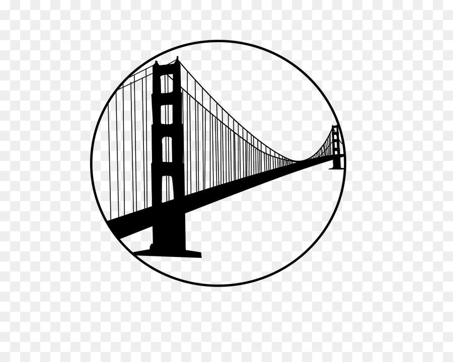 900x720 Golden Gate Bridge San Francisco Bay Clip Art
