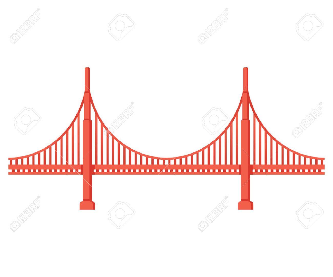 1300x1083 Collection Of San Francisco Golden Gate Bridge Clipart High