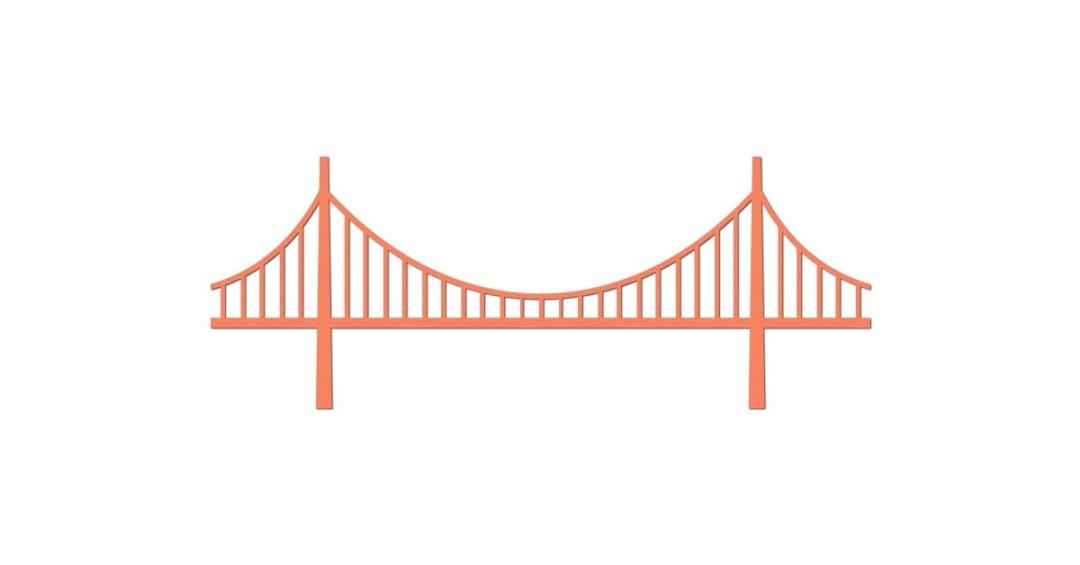 1080x565 Bridge Clipart San Francisco Bridge