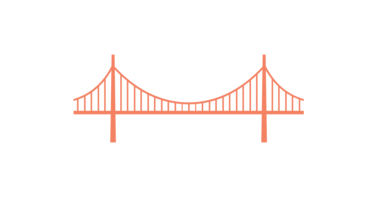 Golden Gate Bridge Vector Illustrator File
