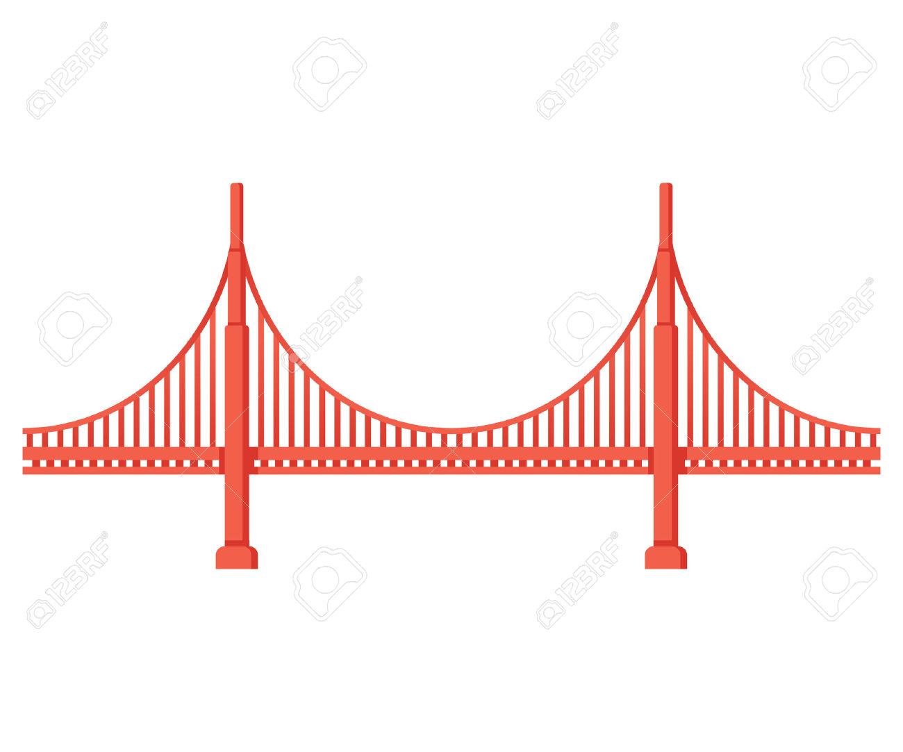 1300x1083 Golden Gate Bridge Vector Illustrator File 68592 Enews