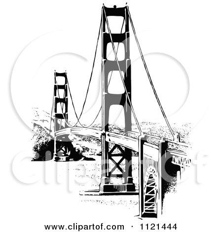 450x470 Golden Gate Bridge Vector Illustrator File