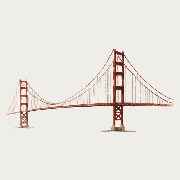 626x626 Golden Gate Bridge Vectors, Photos And Psd Files Free Download