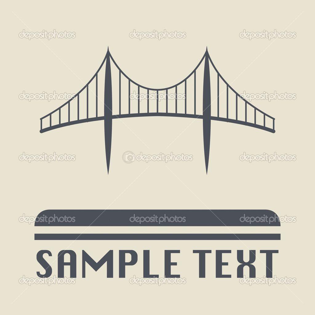 1024x1024 Golden Gate Bridge Vector Illustrator File