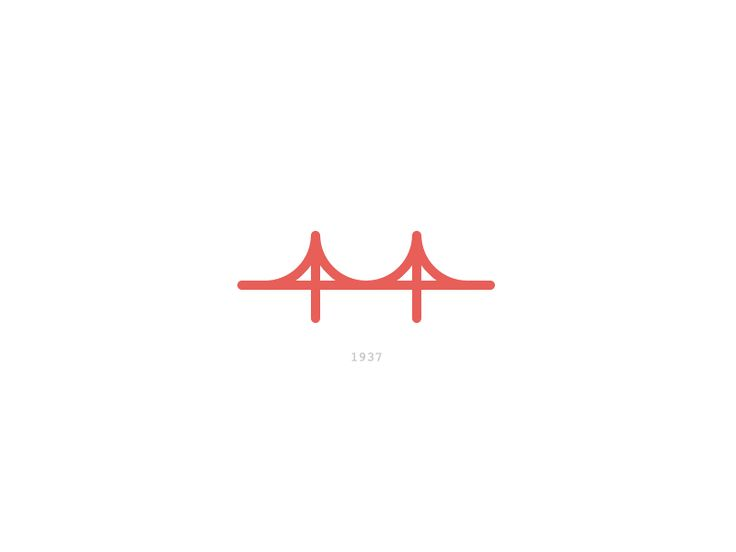 736x552 Collection Of Simple Golden Gate Bridge Drawing High Quality