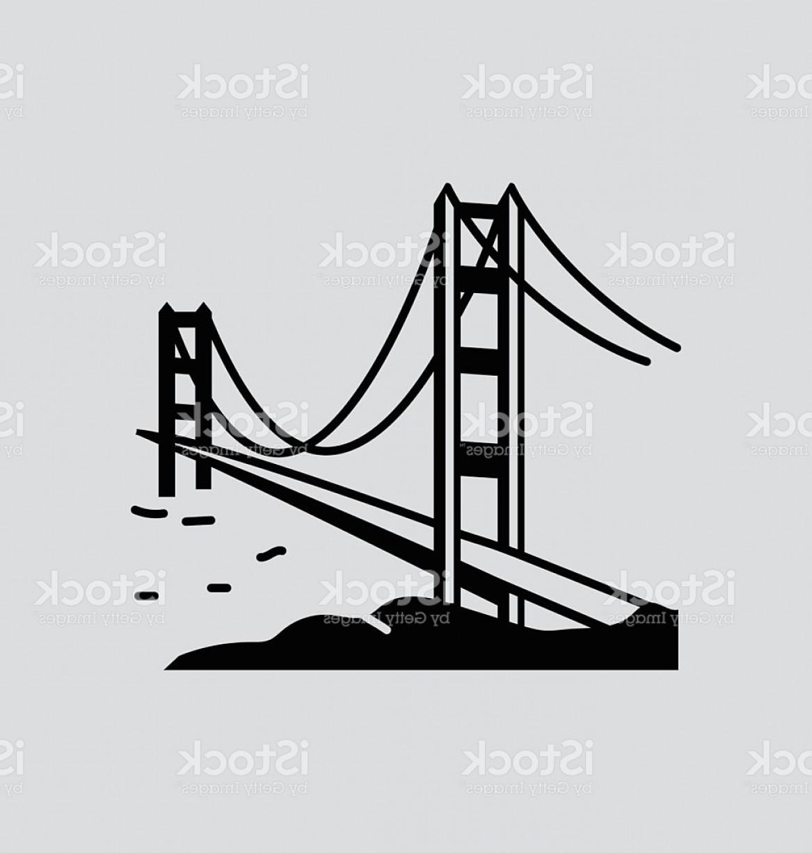 1167x1228 Golden Gate Bridge Solid Vector Illustration Gm Sohadacouri