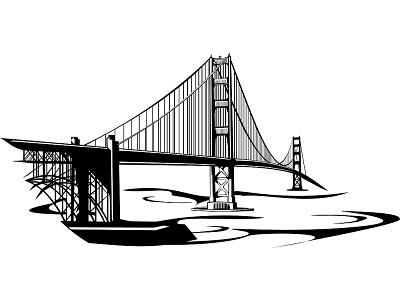 400x300 Golden Gate Bridge Clip Art Clipartlook