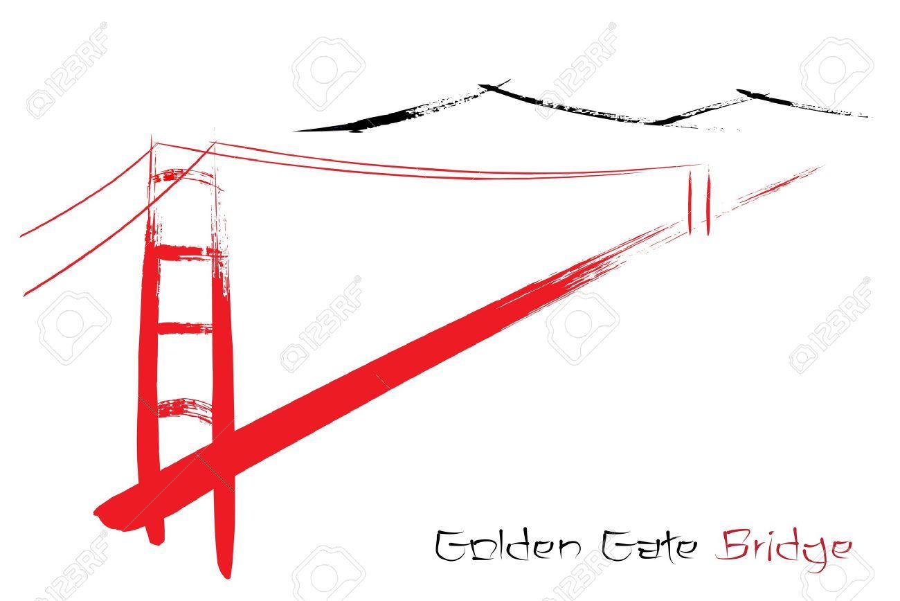 1300x868 Golden Gate Bridge Clipart, Explore Pictures