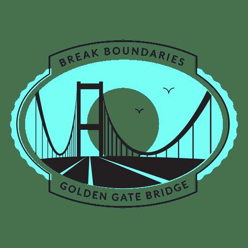 512x512 Golden Gate Bridge Logo