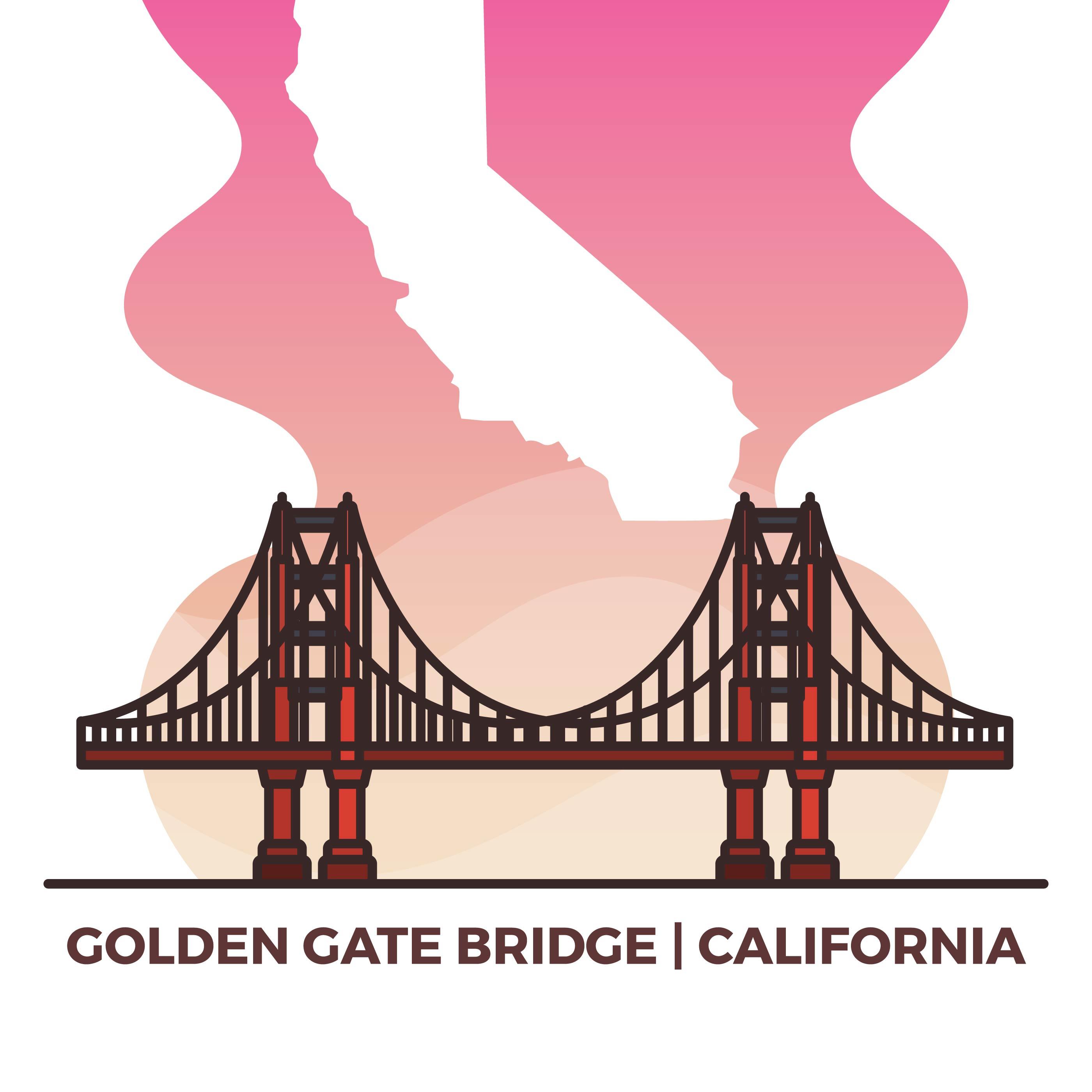 2800x2800 Bridge Free Vector Art