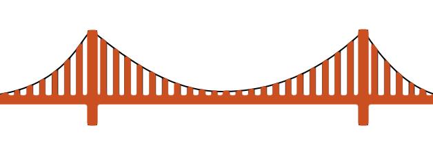 628x215 Drawn Bridge Golden Gate