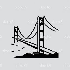 300x300 Golden Gate Bridge Solid Vector Illustration Gm Sohadacouri