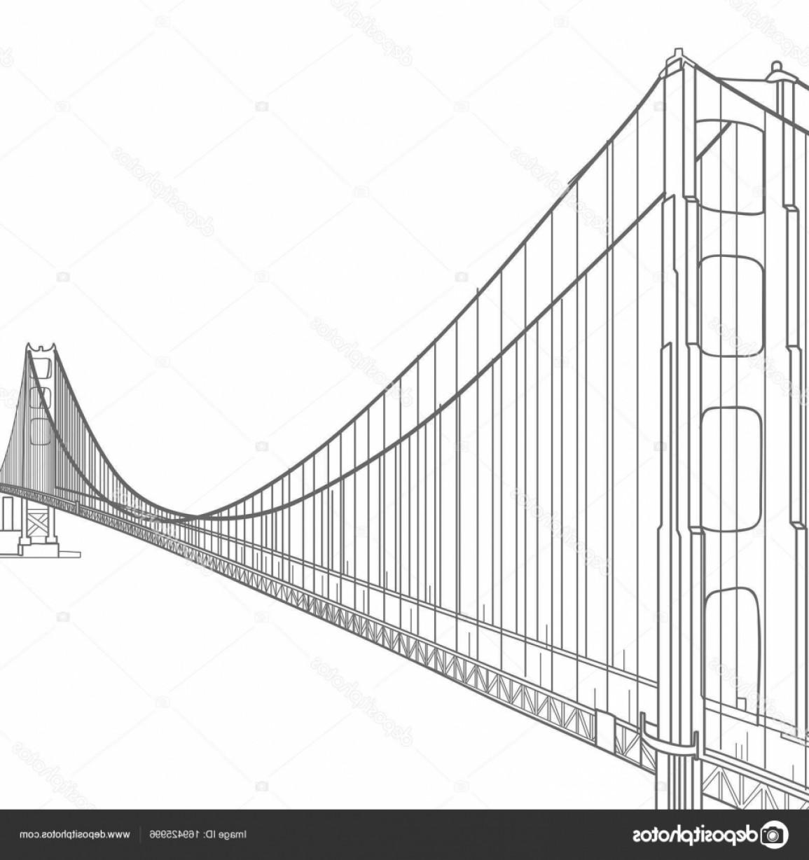 1155x1228 Stock Illustration Vector Illustration Golden Gate Bridge Lazttweet