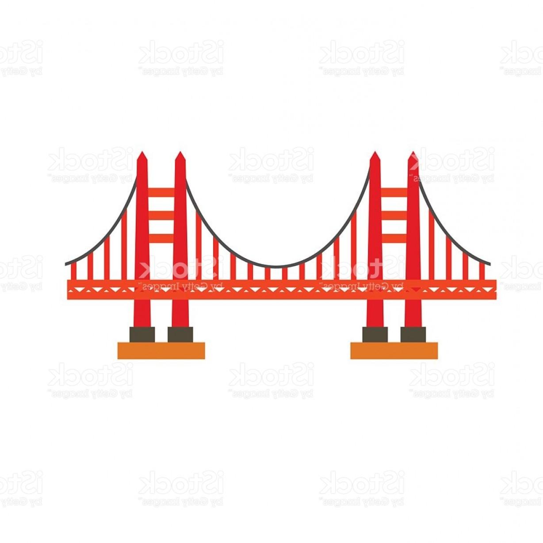 1228x1228 Vector Clipart Golden Gate Bridge 8