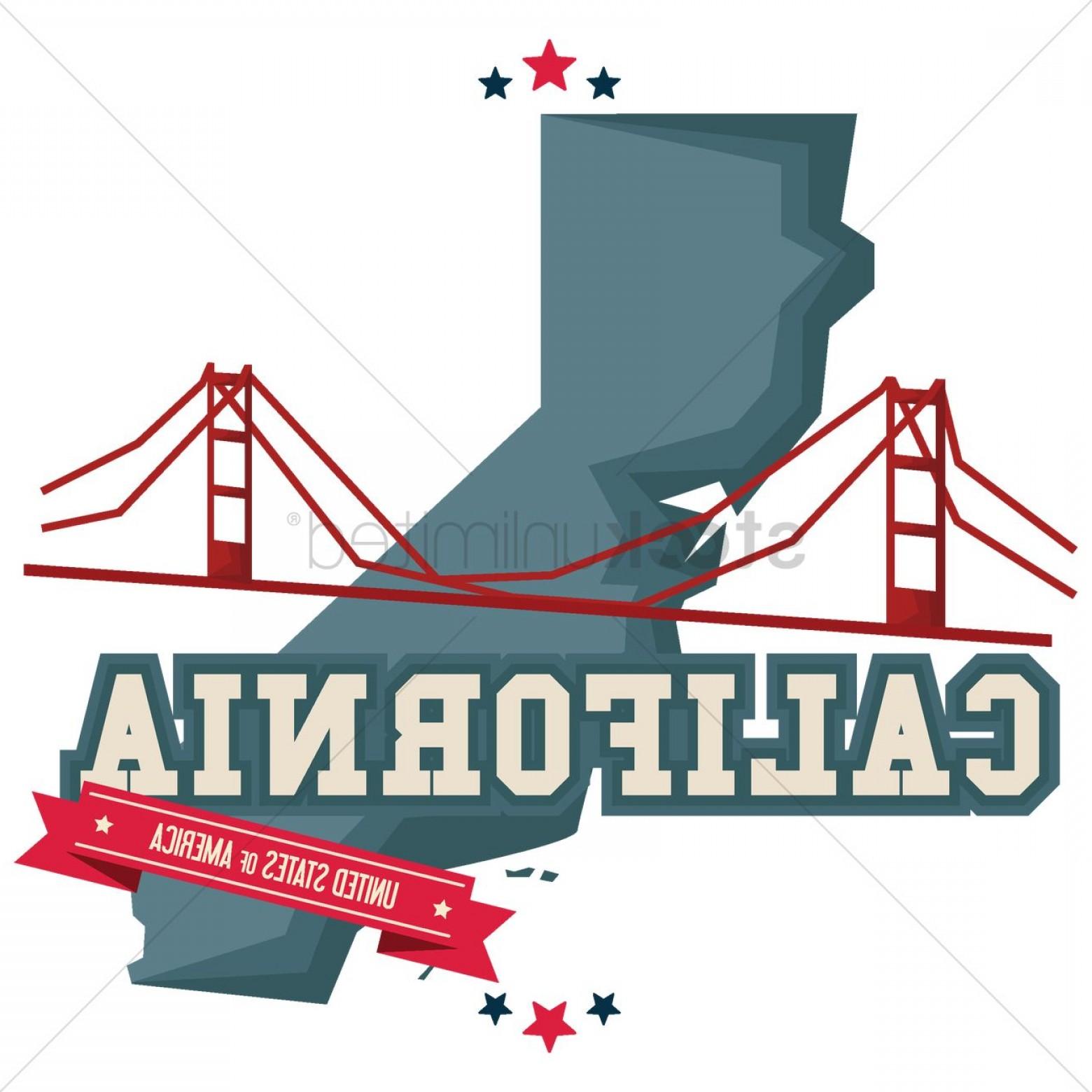 1560x1560 California Map With Golden Gate Bridge Orangiausa