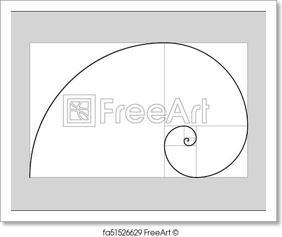 560x470 Free Art Print Of Golden Ratio Vector. Golden Ratio Vector Golden