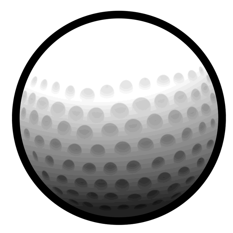 Golf Ball Vector Art
