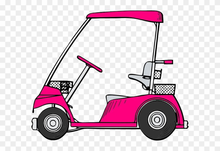 840x577 Golf Cart Vector Png