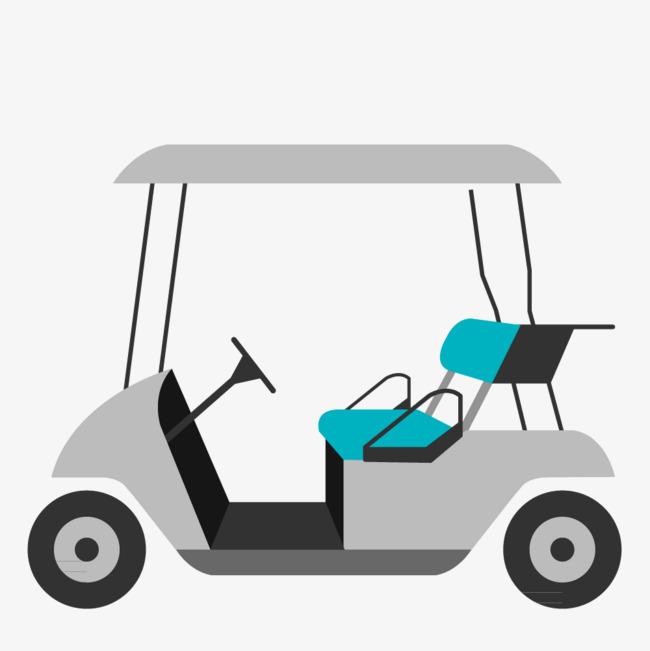 650x651 Car Vector Material Golf Png, Car Vector, Golf Vector, Trolley Png