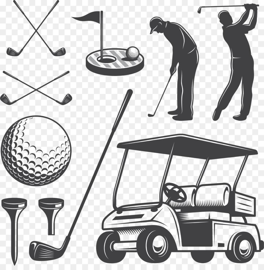 900x920 Golf Cart Golf Club Caddie Clip Art