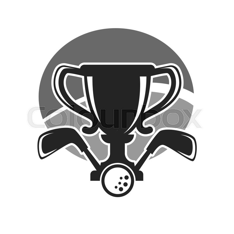 800x800 Golf Club Award Of Country Sport Club Vector Logo Template Or Icon