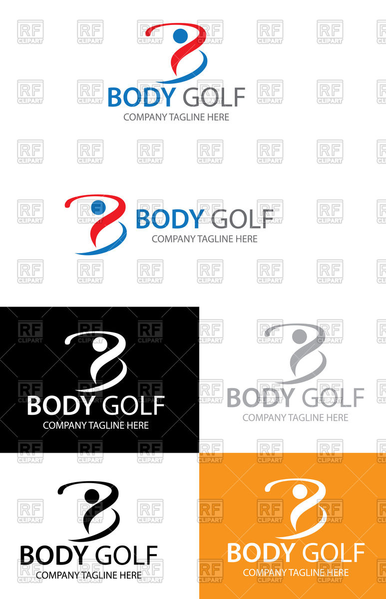 773x1200 Golf Club Logo Set Vector Image Vector Artwork Of Icons And