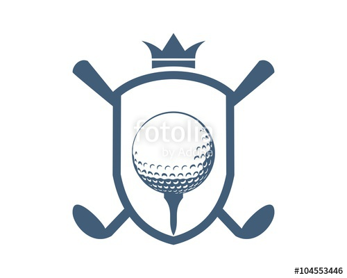 500x400 Golf Club Logo Icon Vector Stock Image And Royalty Free Vector