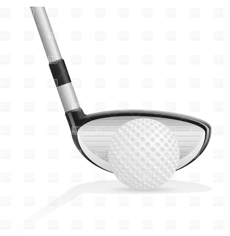 1402x1440 Golf Ball And Iron Golf Club Vector Clipart Sohadacouri