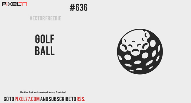 650x352 Golf Ball Vector Free Group With Items