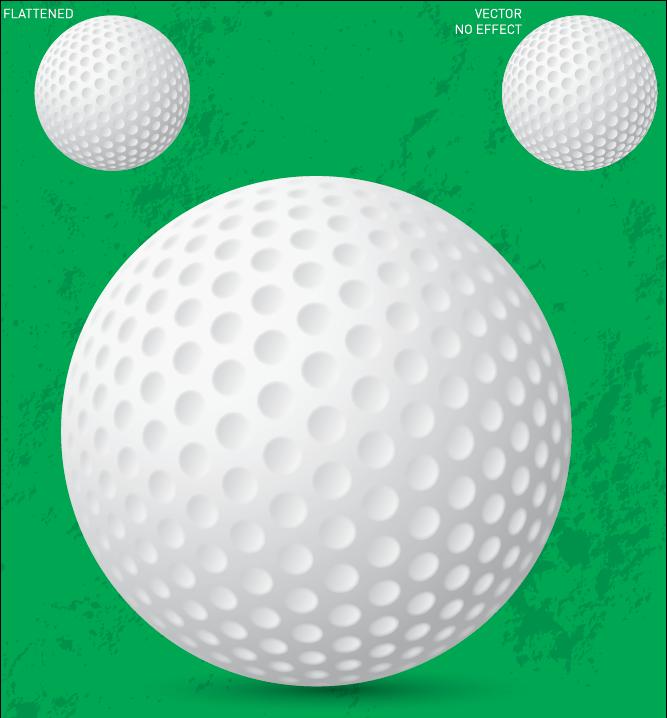 667x718 Free Vector Golf Ball Free Vector 4vector