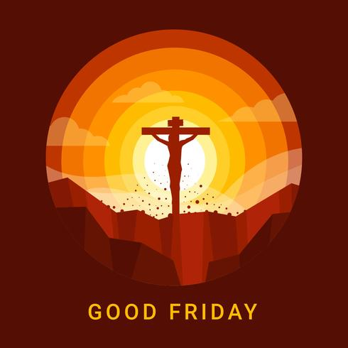 490x490 Good Friday Background Vector