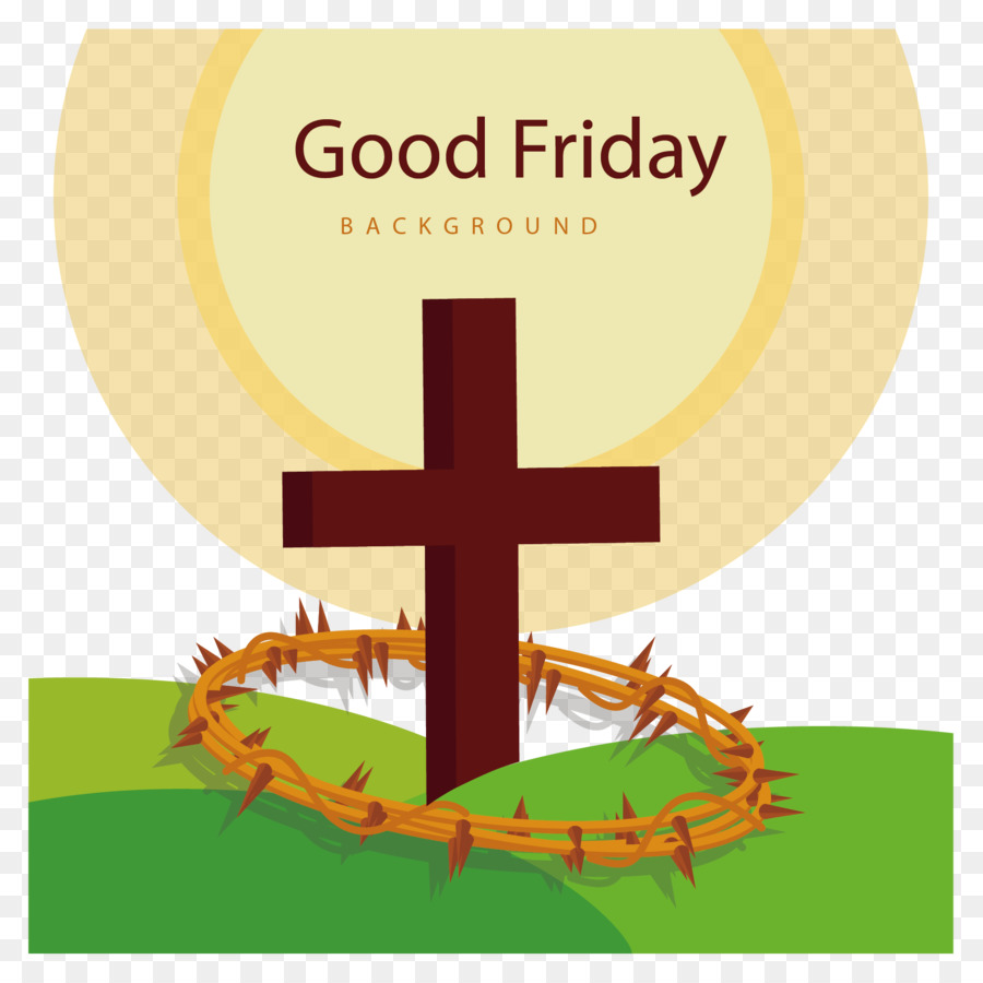 900x900 Good Friday Easter Christian Cross