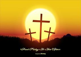 286x200 Good Friday Free Vector Art