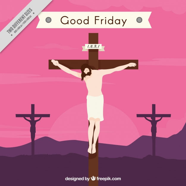 626x626 Good Friday Background Vector Free Download