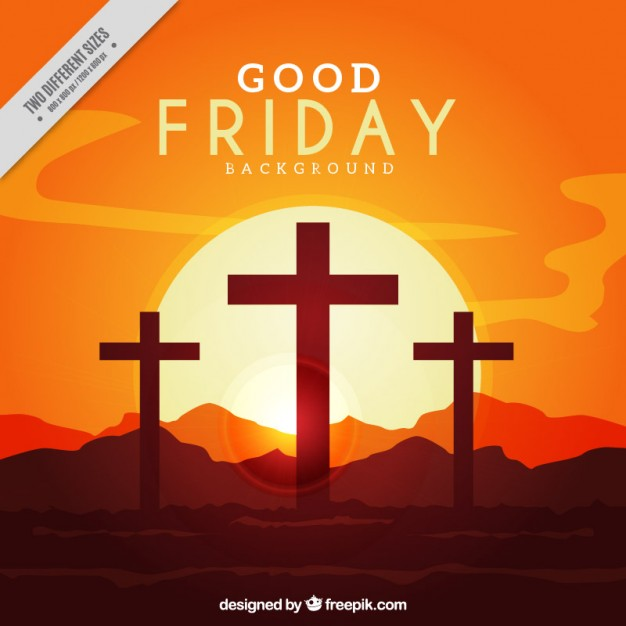 626x626 Good Friday Backlit Background Vector Premium Download