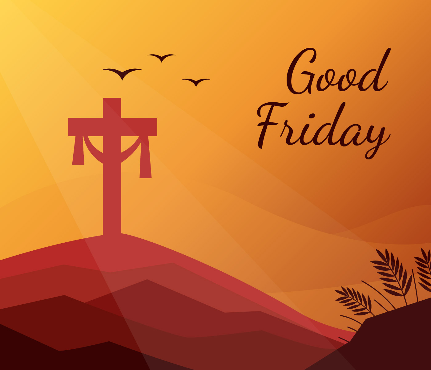 1400x1200 Jesus Cross Good Friday Background