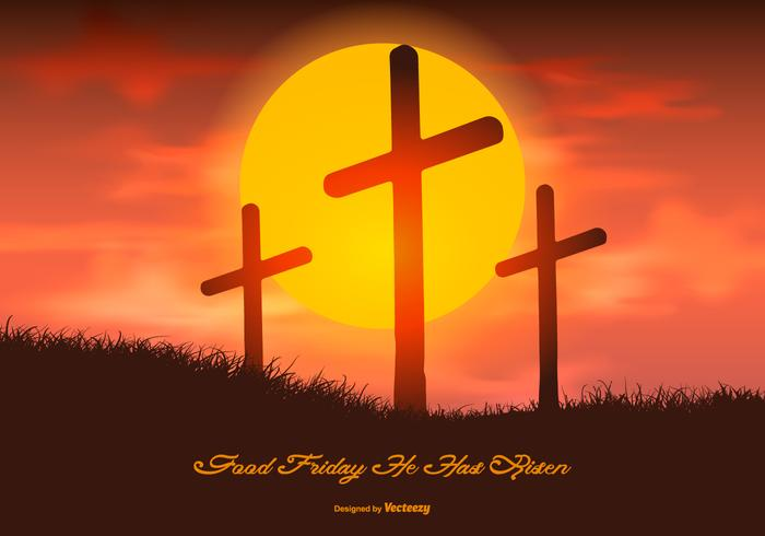 700x490 Beautiful Good Friday Illustration
