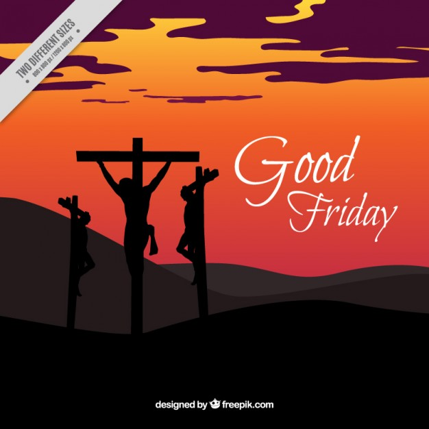 626x626 Crucifixion Good Friday Background Vector Premium Download